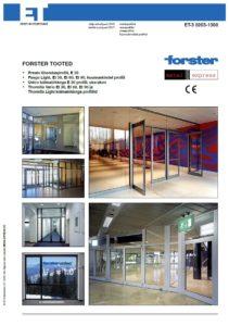 Forster tooted kataloog